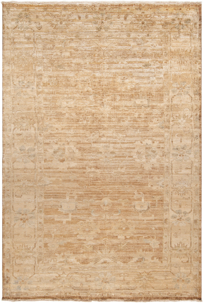 Surya Hillcrest HIL9012 Brown/Neutral Classic Area Rug