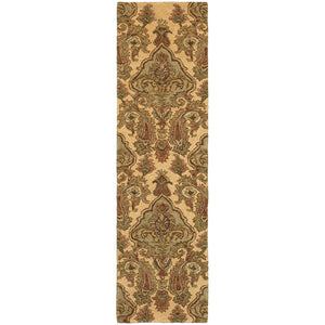 Oriental Weavers Huntley Beige/Green Floral 19106 Area Rug