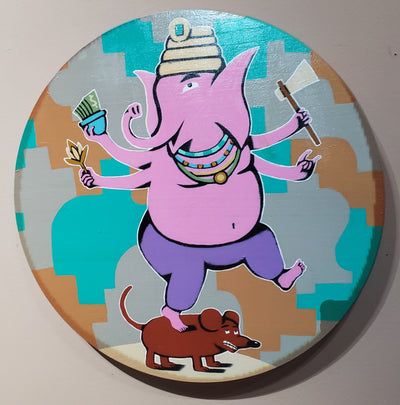 """Ganesha"" by Steve Cruz"
