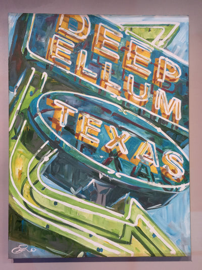 """Deep Ellum Sign"" by Eric Hanson"