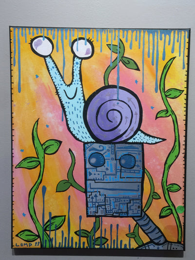 """Snail mail"" by Matt Lumpkins $135"