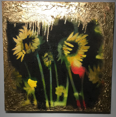 """Some Sunflowers"" by Scott Dykema  $900"
