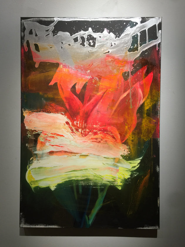 """A Floral Obscured"" by Scott Dykema  $900"