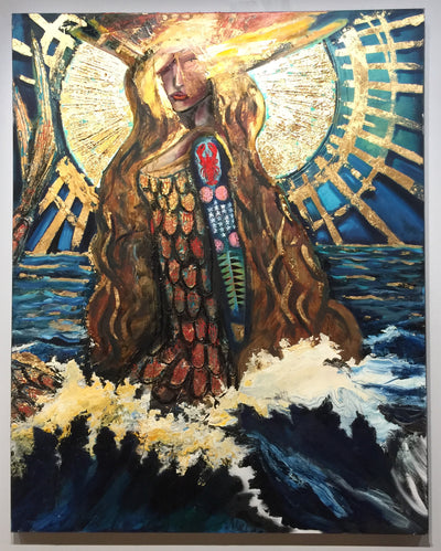 """A Warrior at Sea"" by Scott Dykema  $3600"