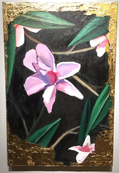 """Posed Magnolia"" by Scott Dykema  $900"