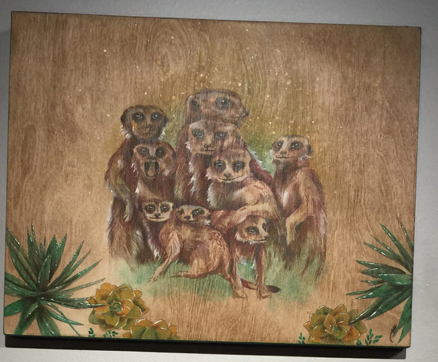 """Family Portrait"" by Alex Hundemer  $120"