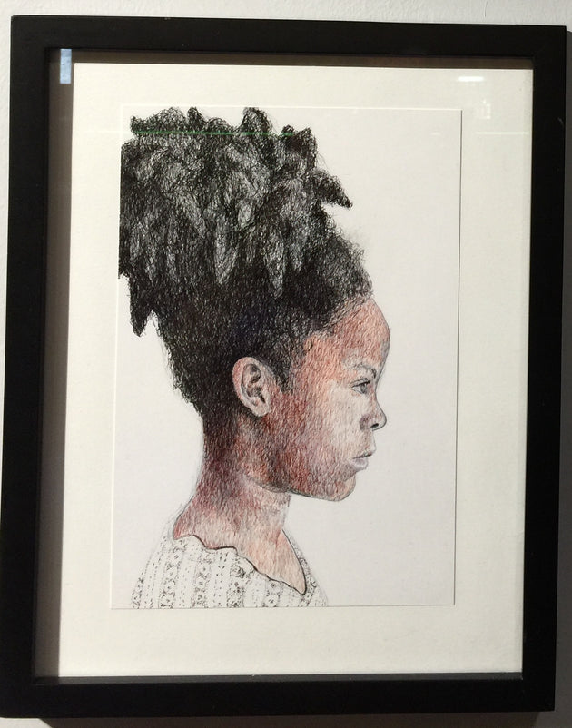 """Puffball"" by Jim Hastings  $175"