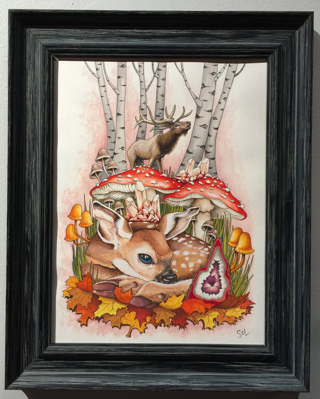 """Stuck in the Rut"" by Sarah Curl-Larson  $150"