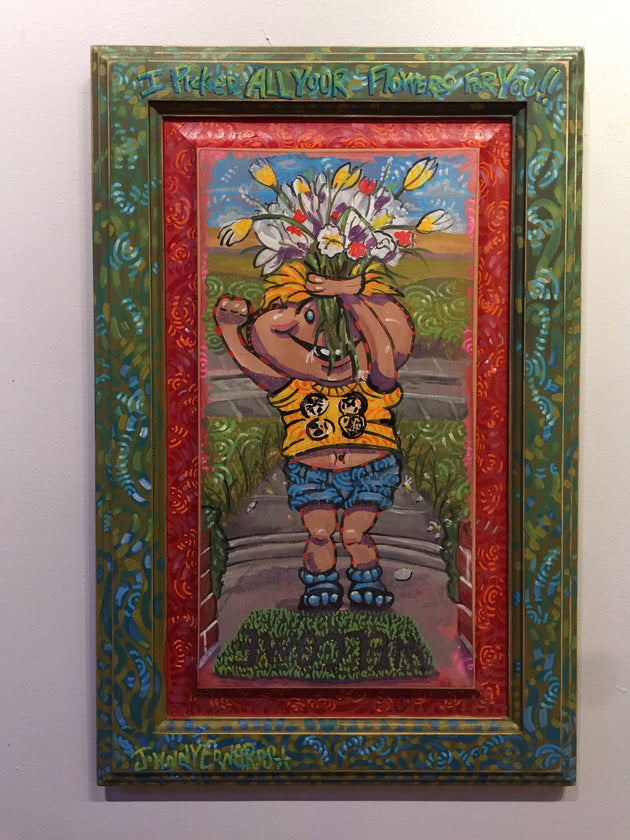 """I picked all the Flowers for You"" by Johnny Edwards  $250"