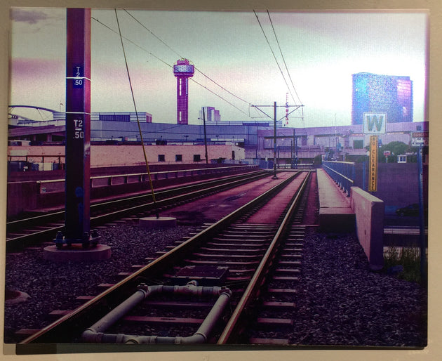 """Train to Reunion"" by Andrew Sherman  $100"