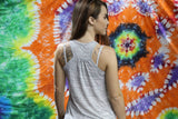 Art Co Scrunched Tank | Grey
