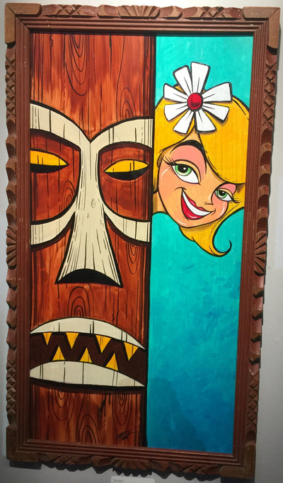 """Tiki Girl"" by William ""Bubba"" Flint"