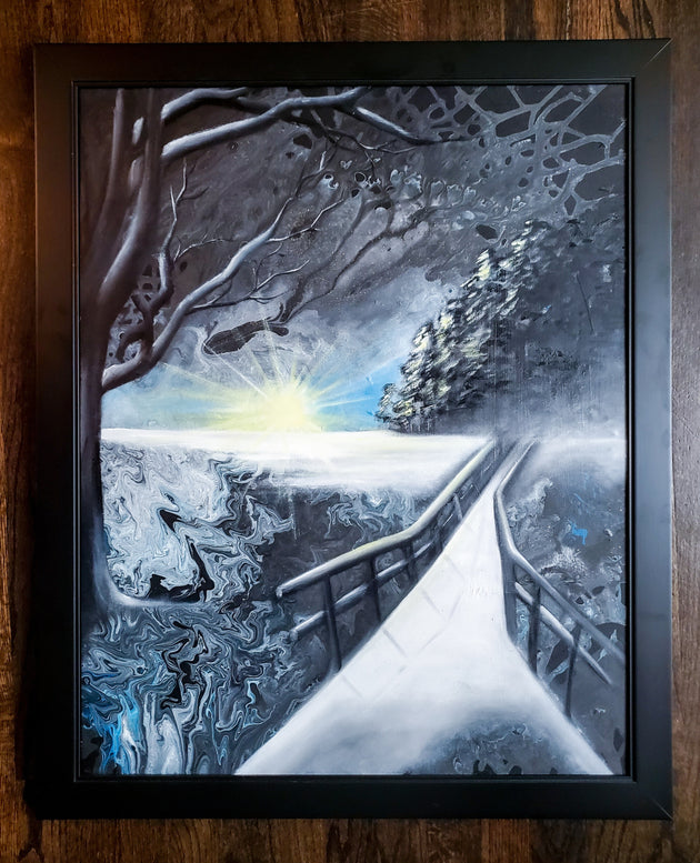 """Endless Winter"" by Denise Najera $725"
