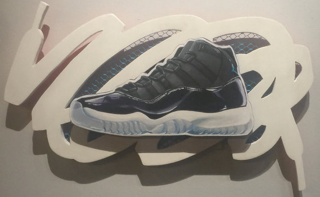 """Jordan 11 Space Jam"" by Rafael Crump"