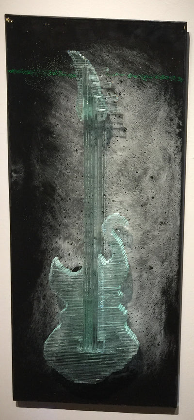 """Bass Guitar"" by Gary McClure  $2000"