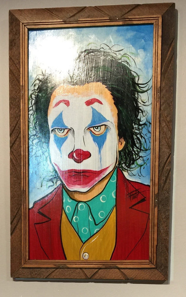 """Joker"" by William ""Bubba"" Flint $125"
