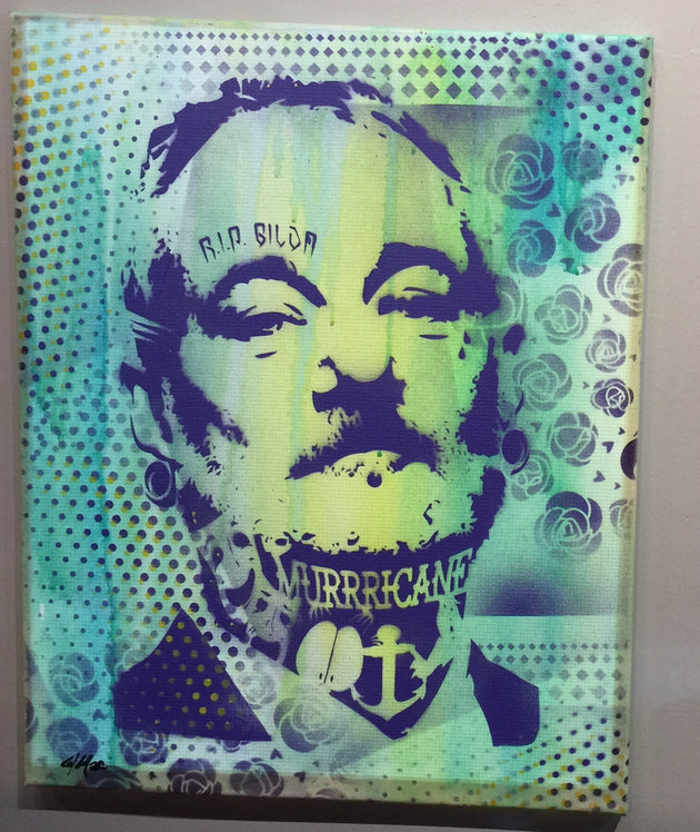 """Bill Murray #1"" by Canvas Vandal  $75"
