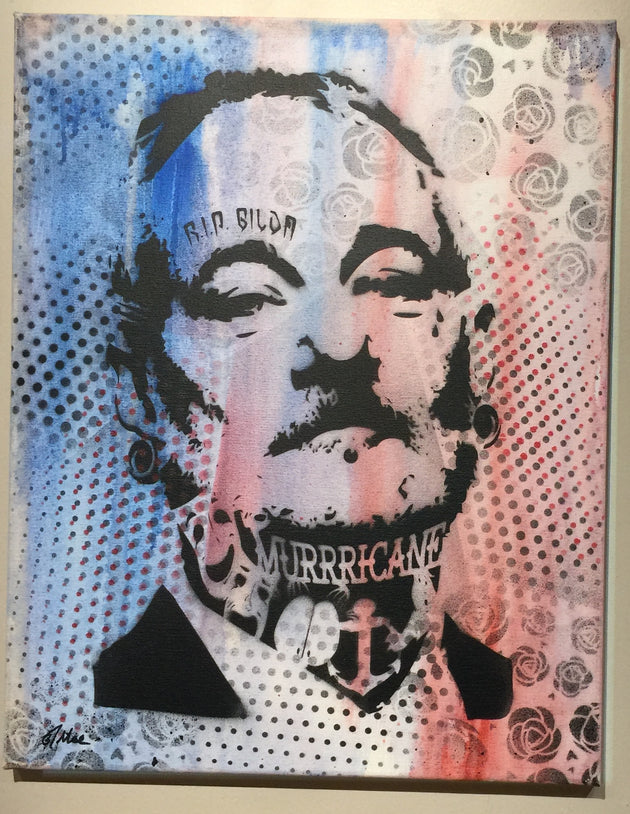 """Bill Murray #3"" by Canvas Vandal  $75"