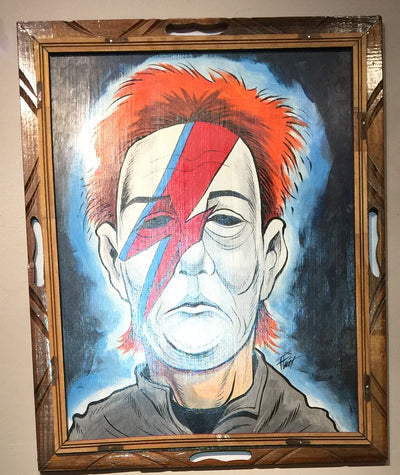"""Michael Bowie"" by William ""Bubba"" Flint  $175"