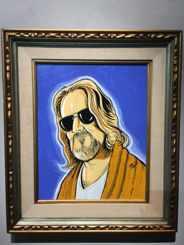 """The Dude"" by William ""Bubba"" Flint  $200"