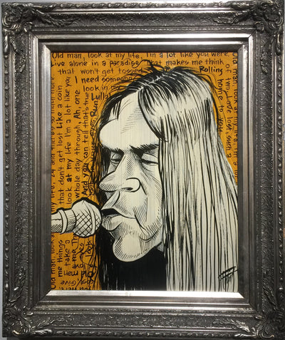 """Neil Young"" by William Flint"