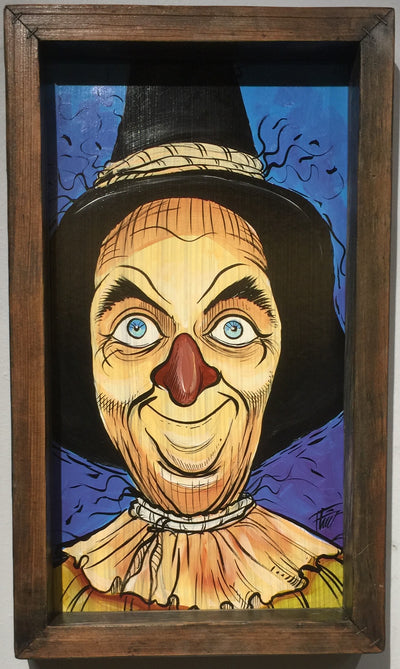 """Scarecrow"" by William Flint"