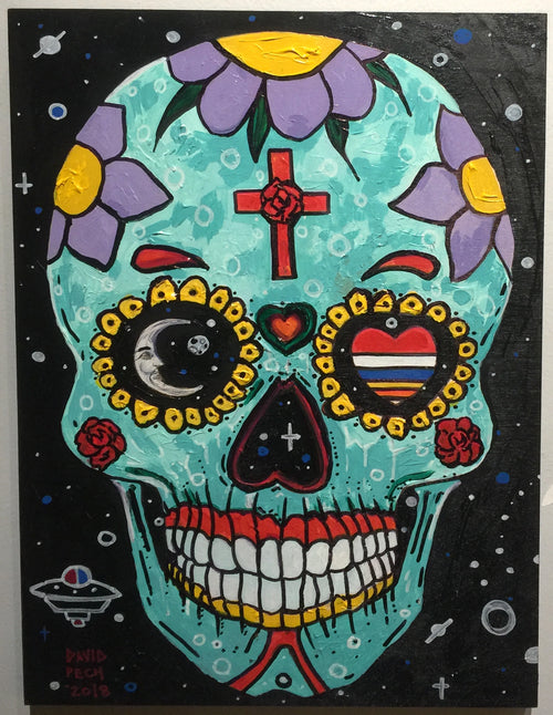 """Day of The Dead"" by David Pech"