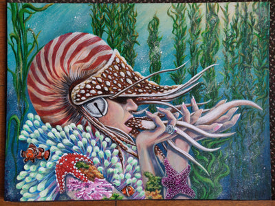 """Nautilus Queen"" by Lhars Ebersold $450"