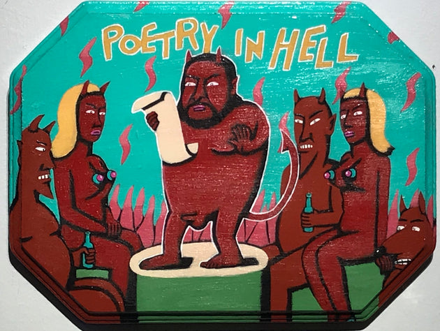 """Poetry in Hell"" by Steve Cruz"