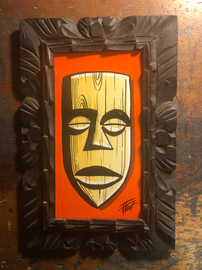 """Tiki Time"" by William ""Bubba"" Flint $50"