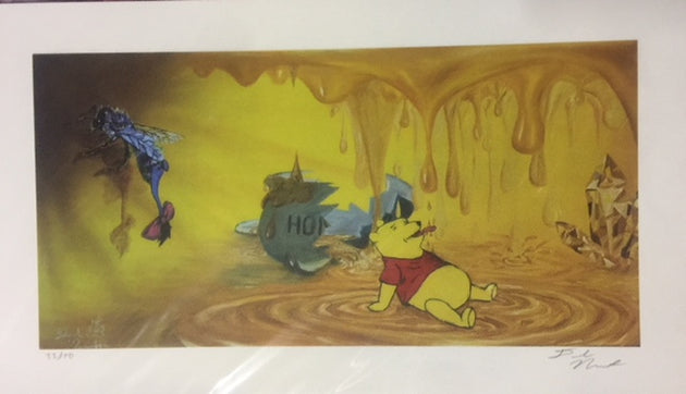 """Pooh Dreams"" by Deek Nemunaitis $45"