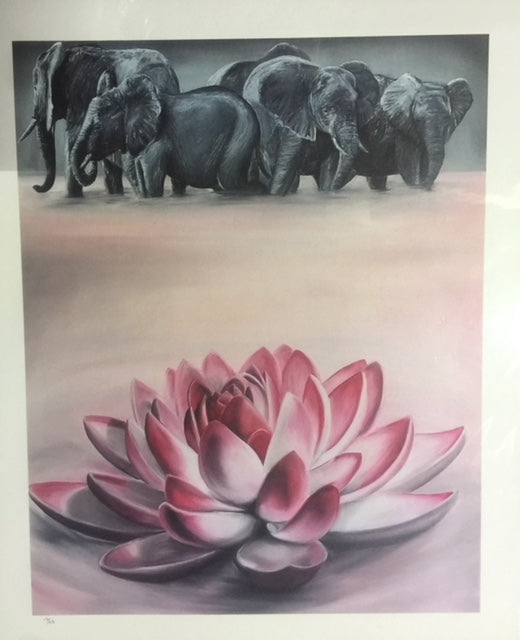 """Cavanaugh's Lotus"" by Derek Nemunaitis $60"