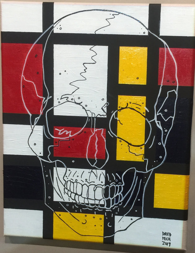 """The Art of Destruction"" by David Pech $150"