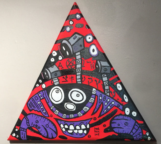 """All Seeing Eye"" by Matt Lumpkins & David Pech  $80"