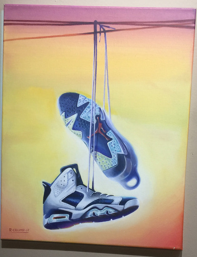"""Jordan 6 olympic"" by Rafael Crump"