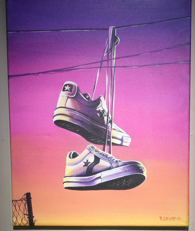 """Converse all star lo"" by Rafael Crump"