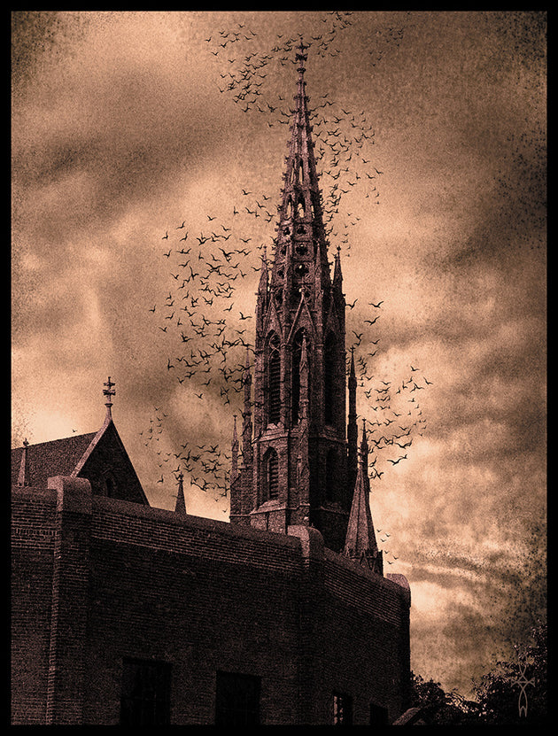 """The Chapel at the End of the..."" by James Cole  $25"