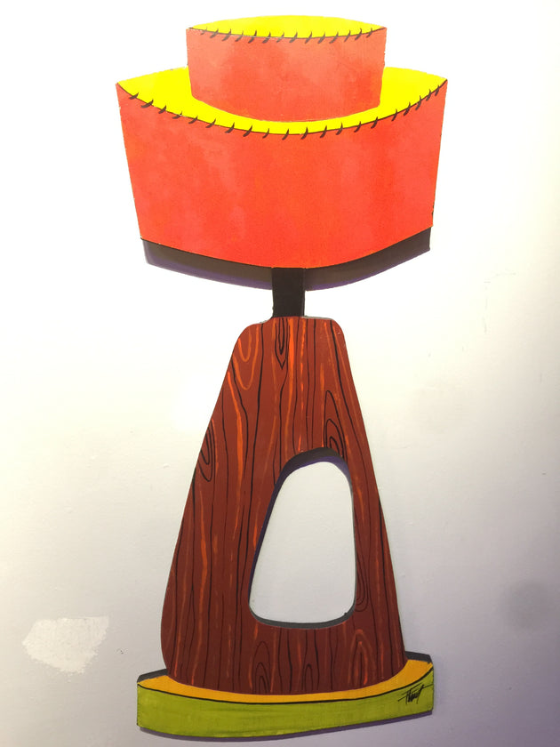 """Lounge Lamp"" by William ""Bubba"" Flint $175"