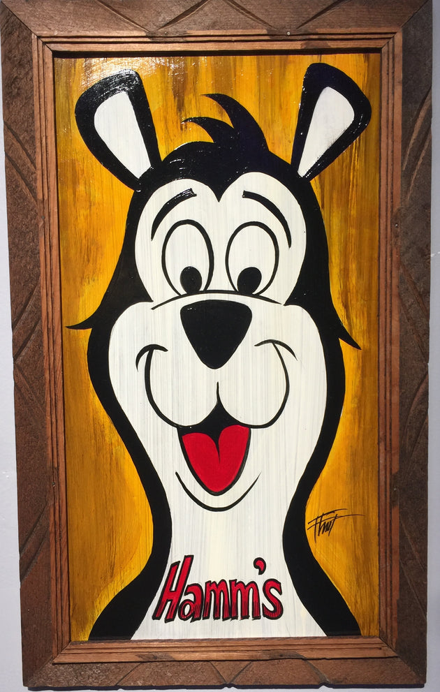 """Hamm's Bear"" by William ""Bubba"" Flint $150"