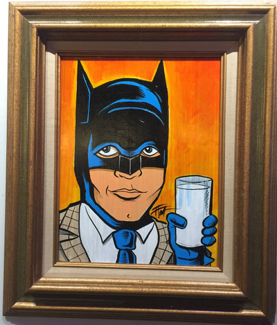 """Batman at the Bat Lounge"" by William ""Bubba"" Flint $175"