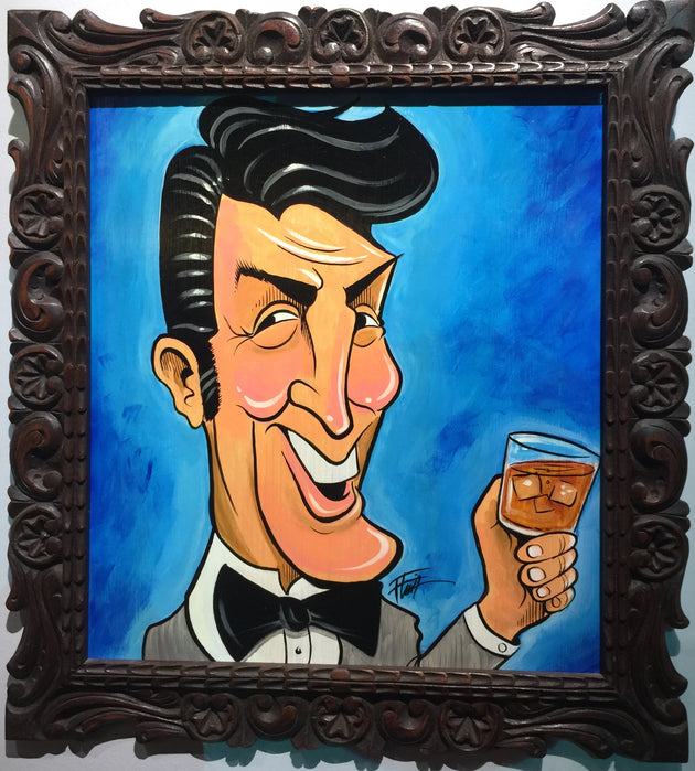 """Dean Martin"" by William ""Bubba"" Flint $220"