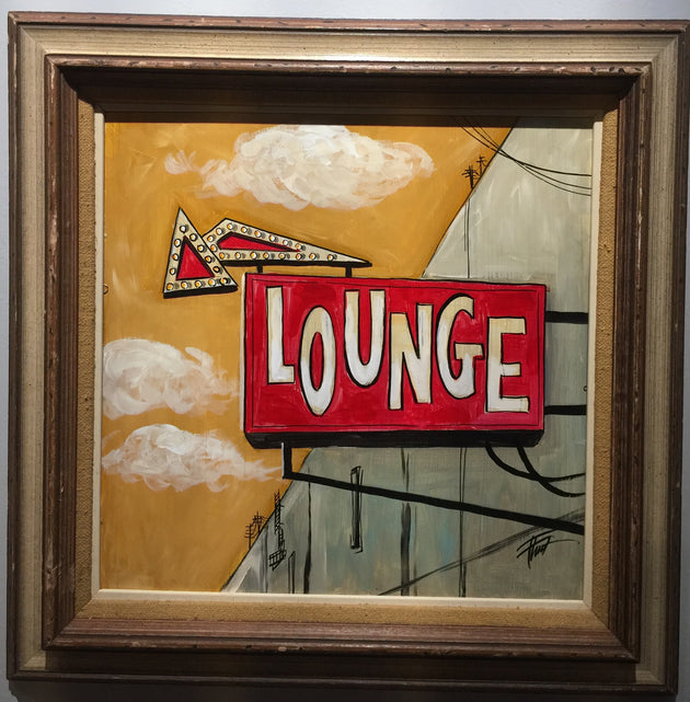 """The Lounge"" by William ""Bubba"" Flint $243"