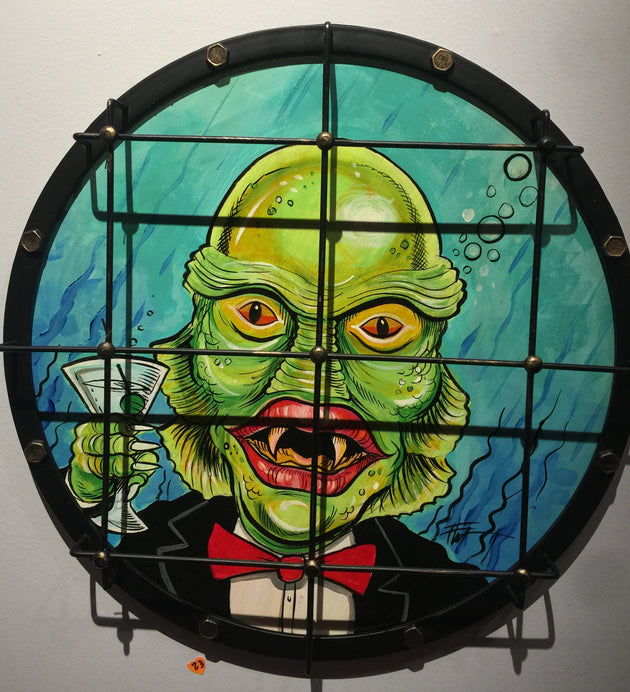 """Creature from Black Lagoon"" by William ""Bubba"" Flint $195"