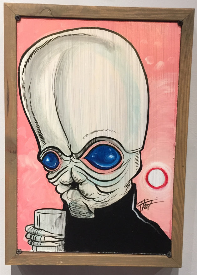 """Star Wars Cantina Band"" by William ""Bubba"" Flint $120"