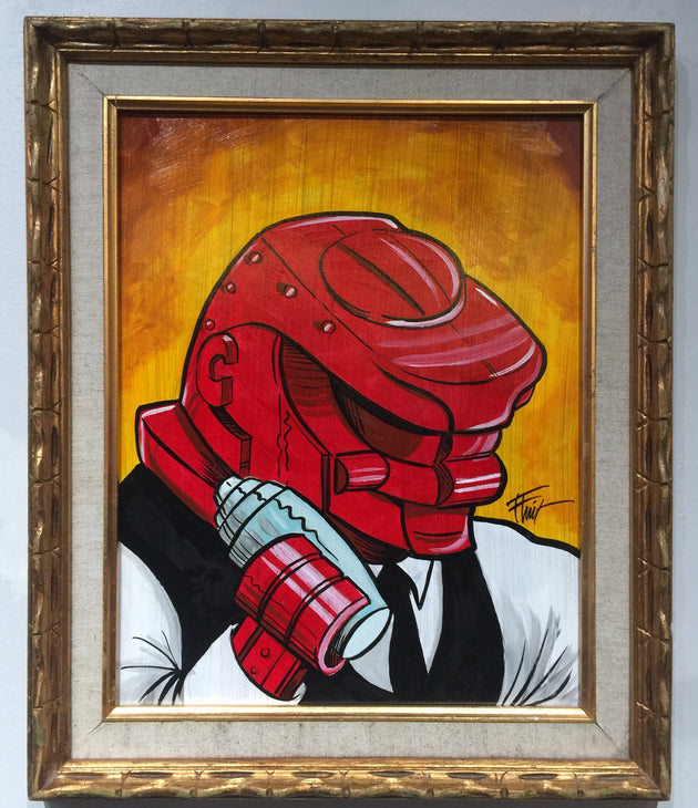 """Rock'em Sock'em Bartender"" by William ""Bubba"" Flint $140"