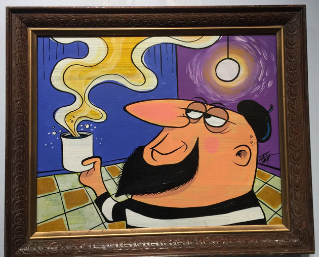 """Beatnik Lounge"" by William ""Bubba"" Flint $200"