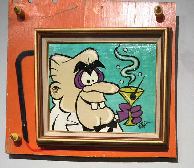 """Simon Bar Simster"" by William ""Bubba"" Flint $120"