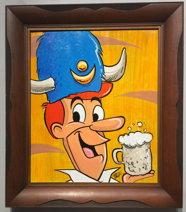 """George Jetson Water Buffalo"" by William ""Bubba"" Flint $175"