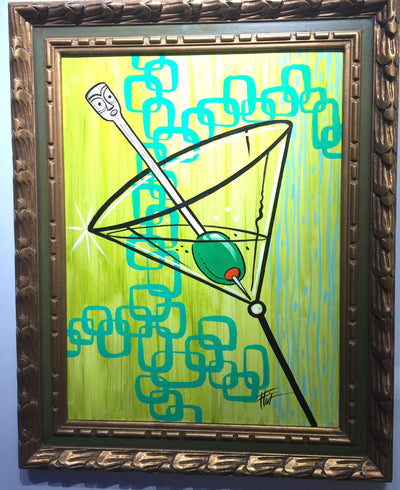 """Martini Time"" by William ""Bubba"" Flint $275"