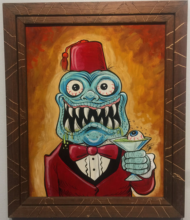 """Sike-O-Shriner"" by William ""Bubba"" Flint $230"